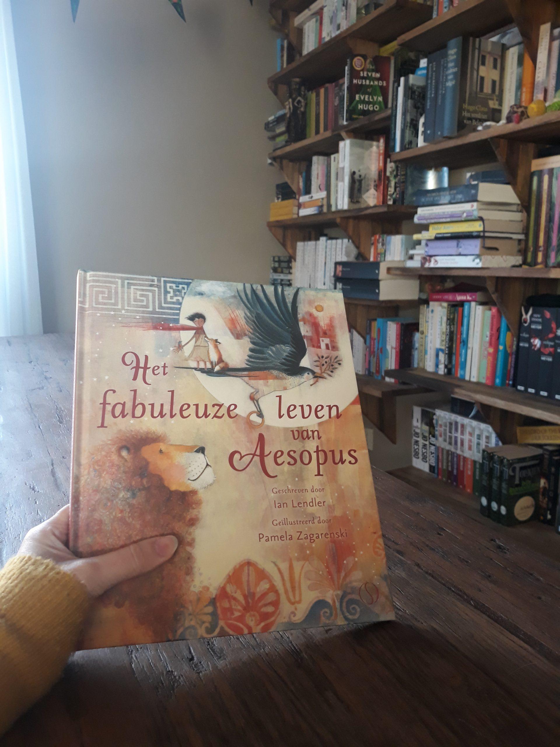 Boekrecensie: Het fabuleuze leven van Aesopus – Pamela Zagarenski