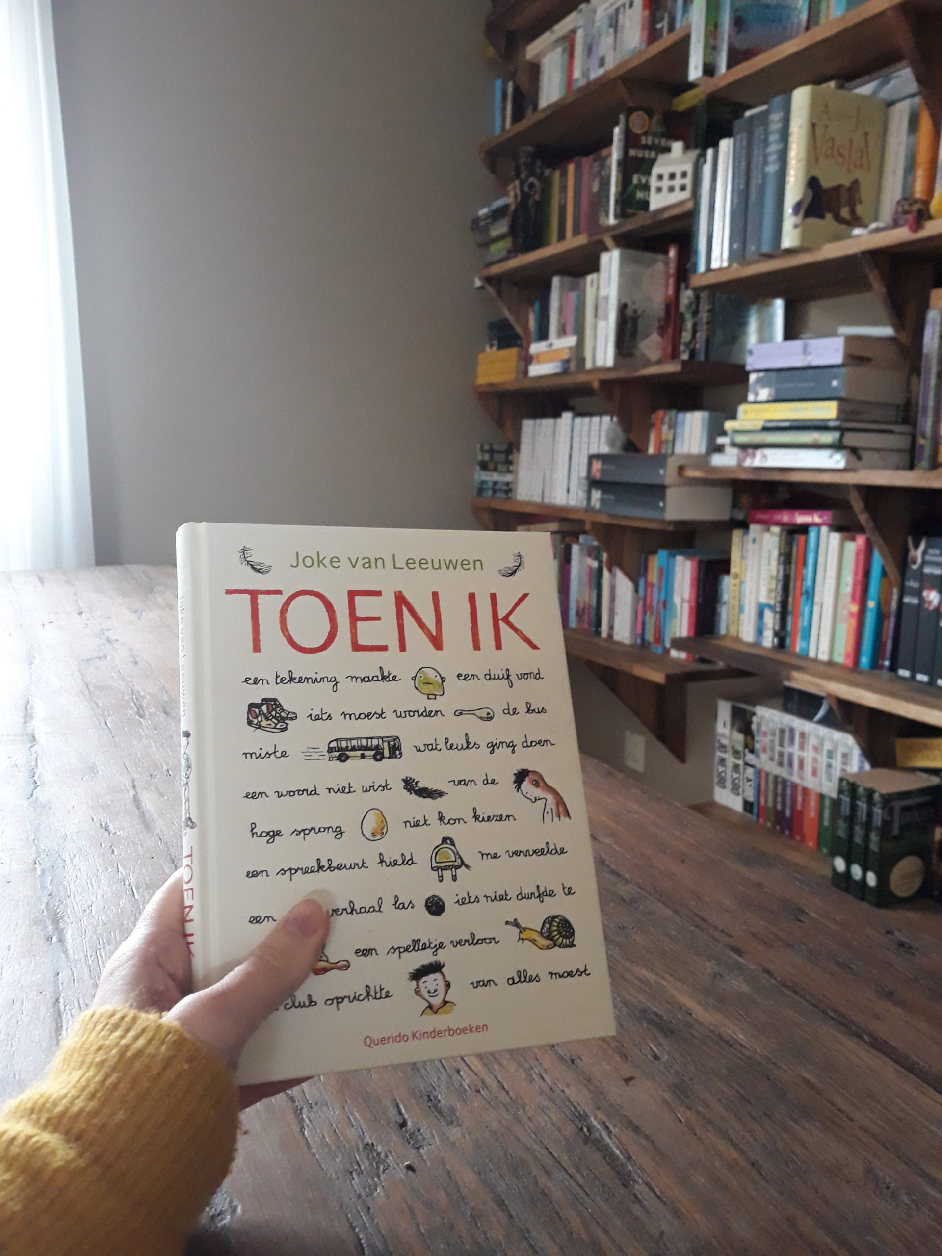 Boekrecensie: Toen ik – Joke van Leeuwen