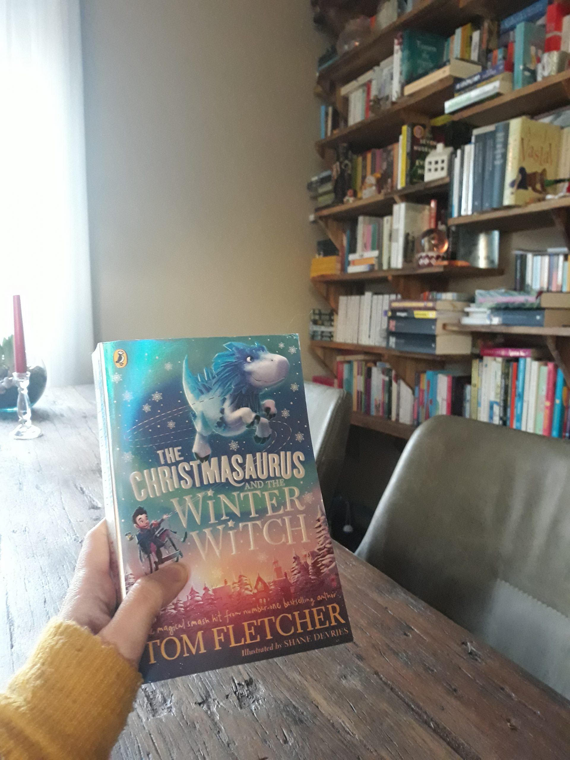 Boekrecensie: The Christmasaurus and the Winter Witch – Tom Fletcher