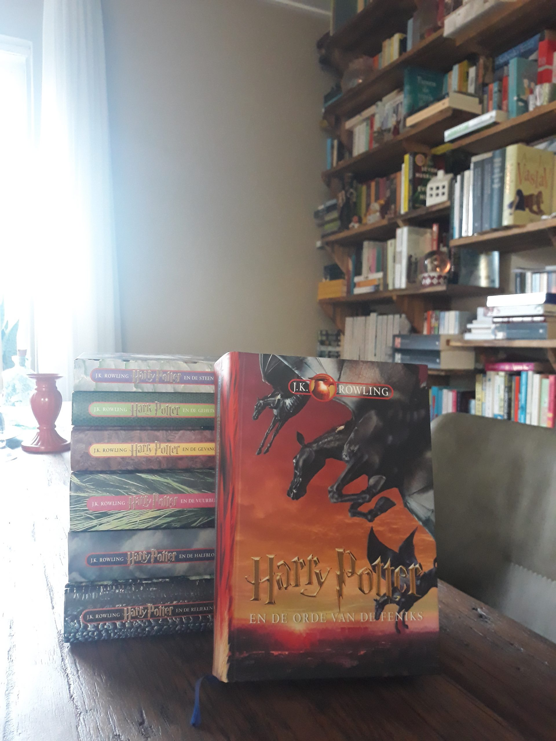 Boekrecensie: Harry Potter en de Orde van de Feniks – J.K. Rowling