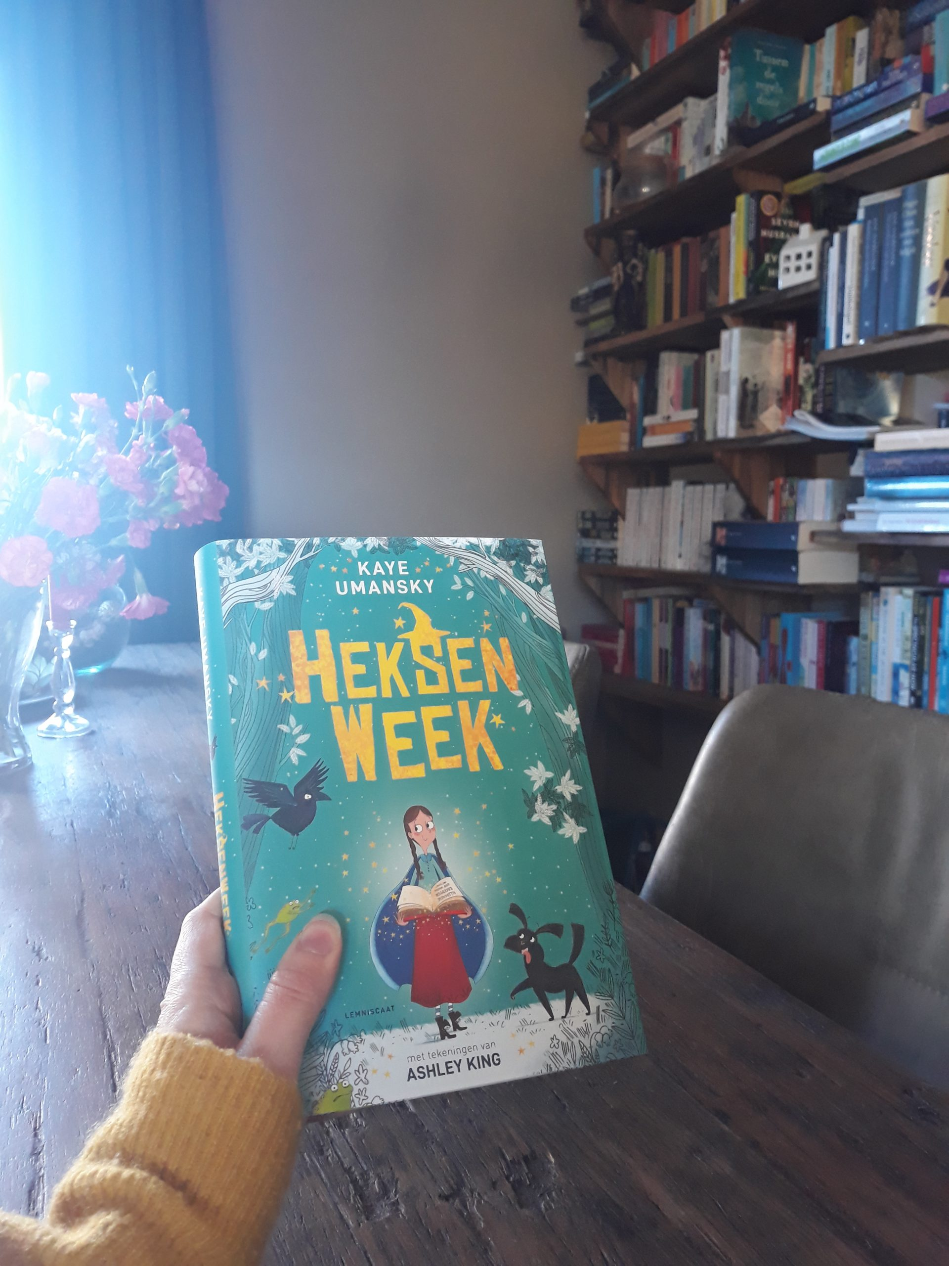 Boekrecensie: Heksenweek – Kaye Umansky