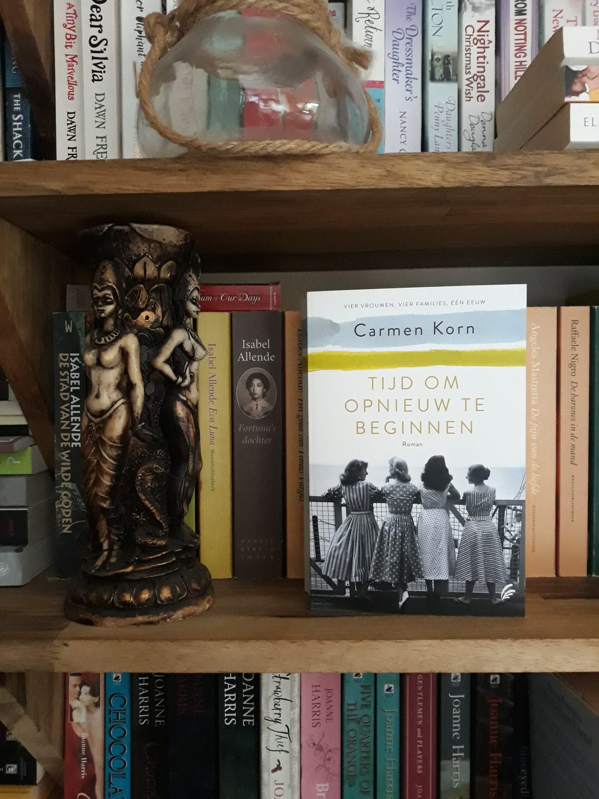 Boekrecensie: Tijd om opnieuw te beginnen – Carmen Korn