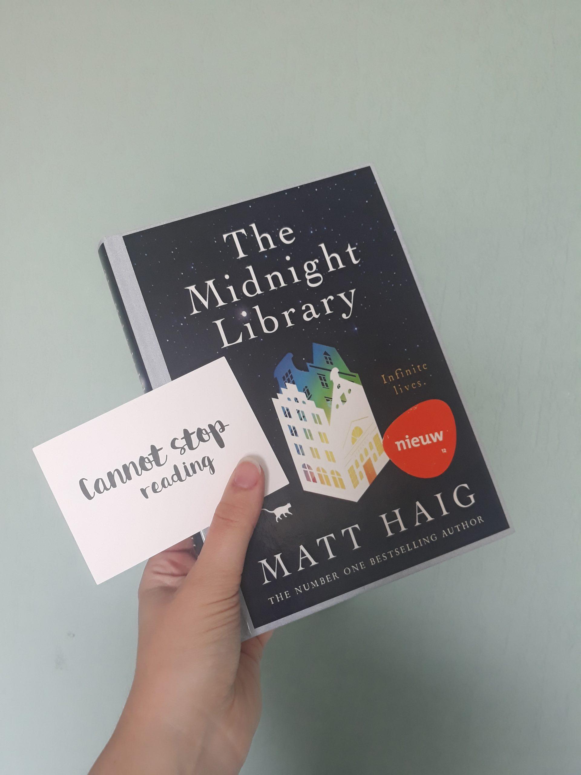 Boekrecensie: The Midnight Library – Matt Haig