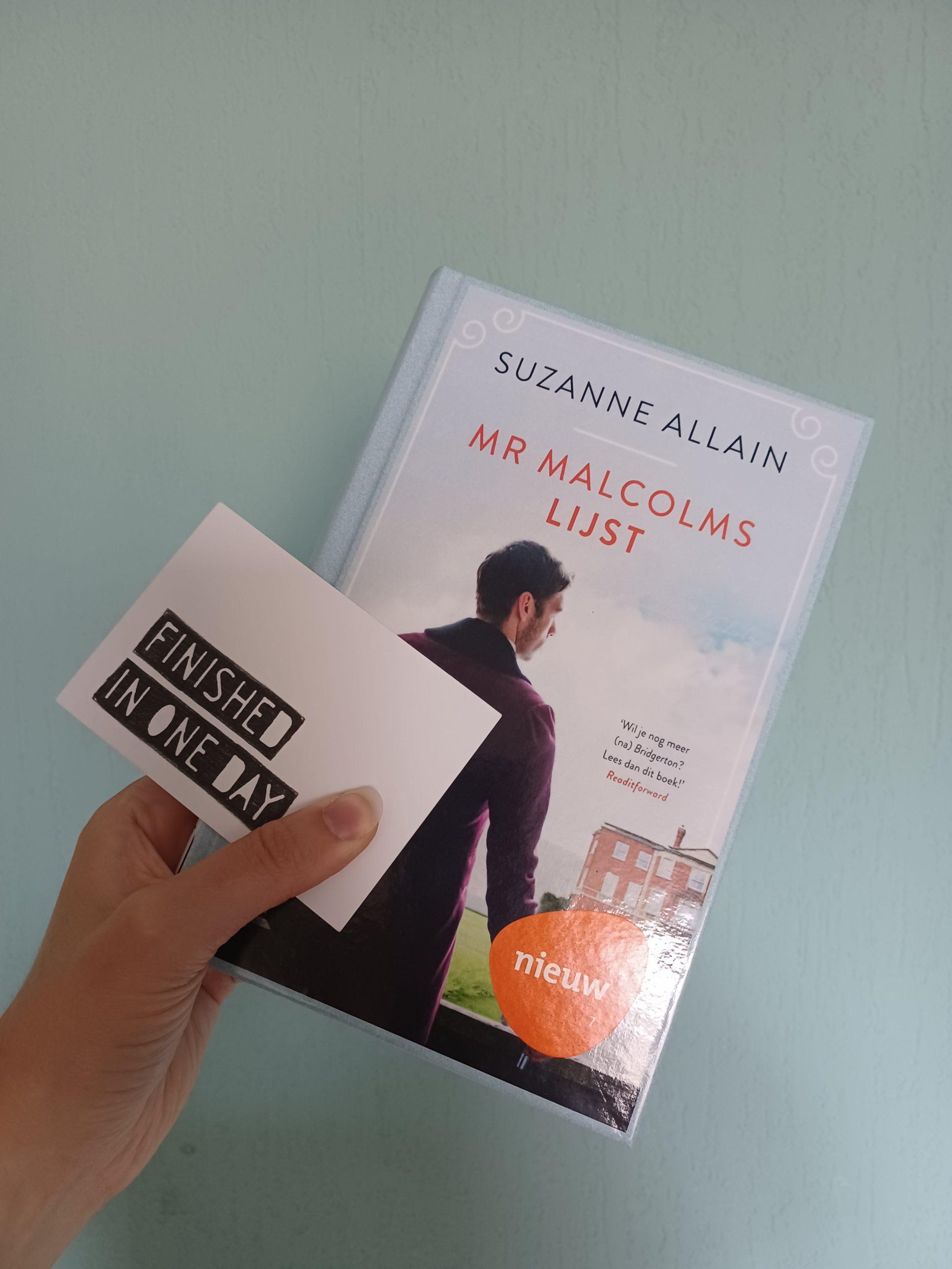 Boekrecensie: Mr. Malcolms lijst – Suzanne Allain