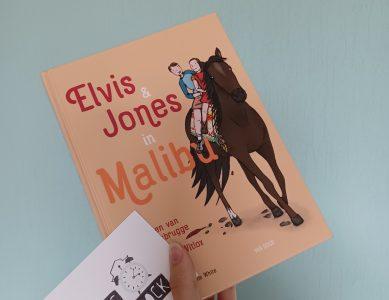 Boekrecensie: Elvis & Jones in Malibu – Jeroen van Koningsbrugge & Marie-Claire Witlox